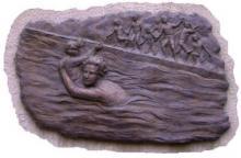 Bassorilievo in bronzo per ricordare Piera Gelpi
